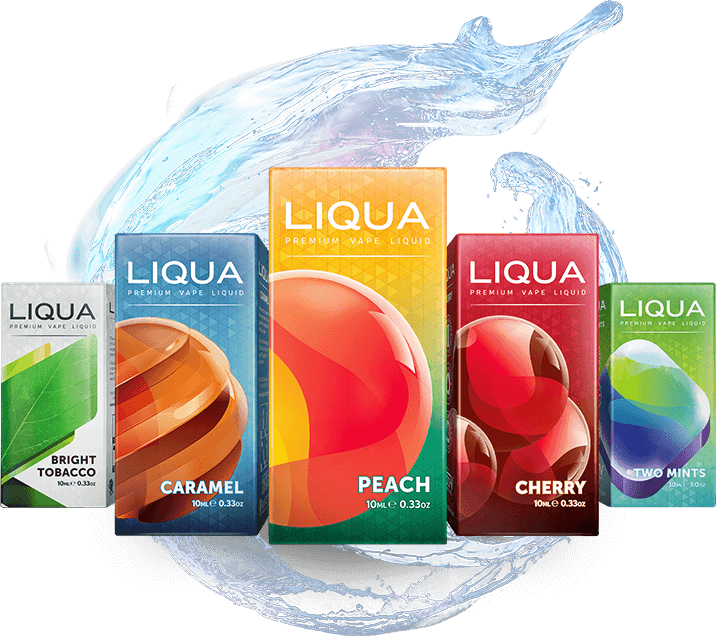 nová rada e-liquidou od LIQUA