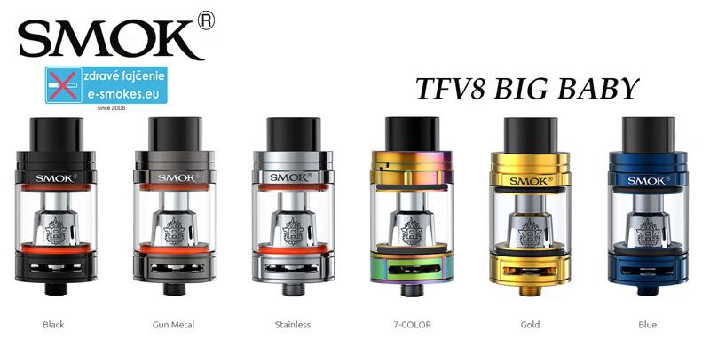 tfv8 - kompletná ponuka farieb