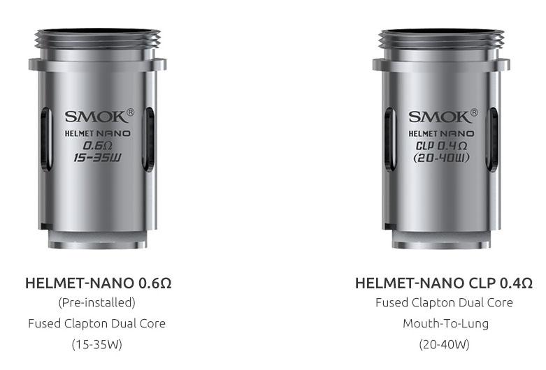 nové atomizery pre clearomizer helmet nano
