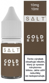 Juice Sauz e-liquid SALT, Gold Rush 10ml - 10mg